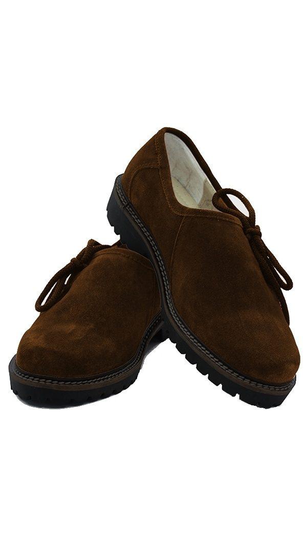 Trachten shoes Camel Brown